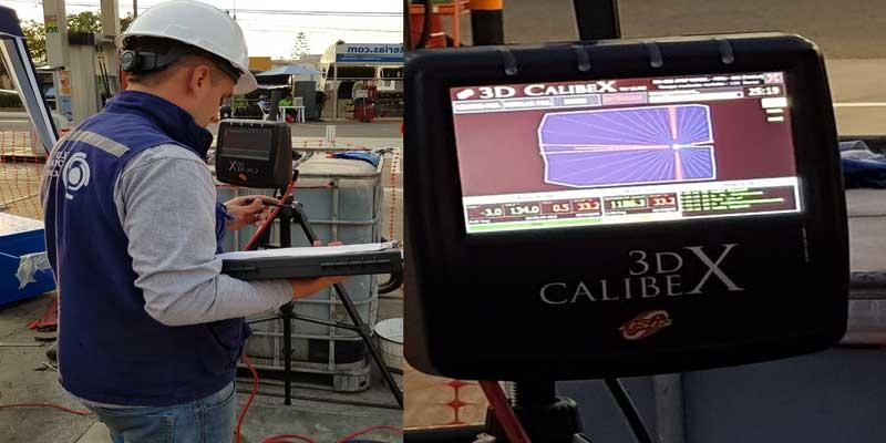 Aforo laser de tanques Calibex 3D