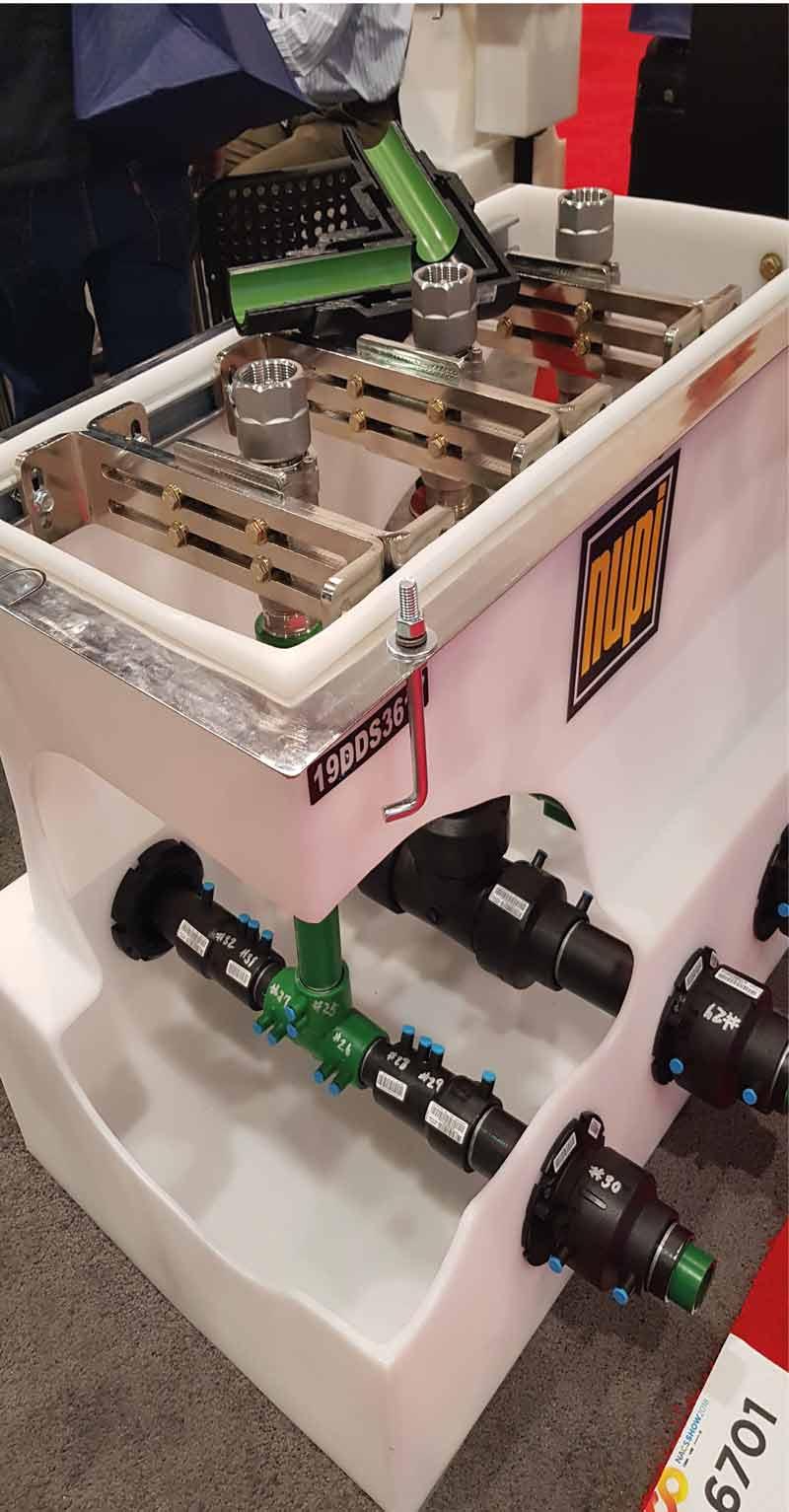 Cajas contenedoras de tuberías Smartflex