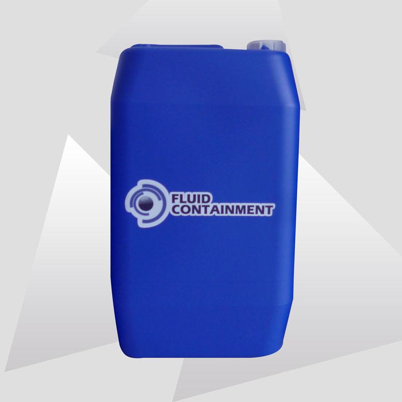 Garrafa cerrada 30 litros azul