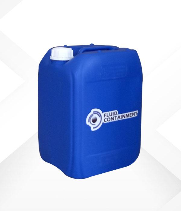 Garrafa cerrada 20 litros azul