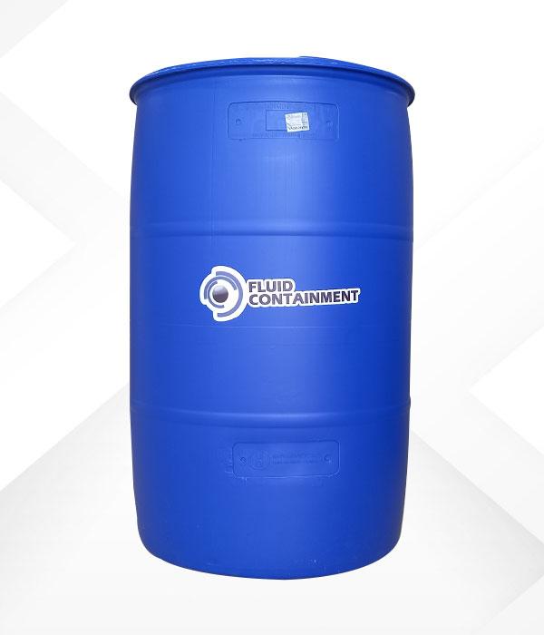 Tambor azul 220 litros polietileno