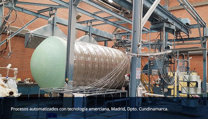Planta de fabricación Madrid Cundinamarca